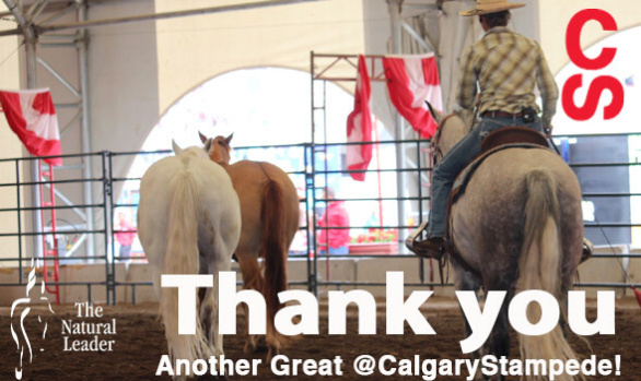 Thx 4 a Great @CalgaryStampede