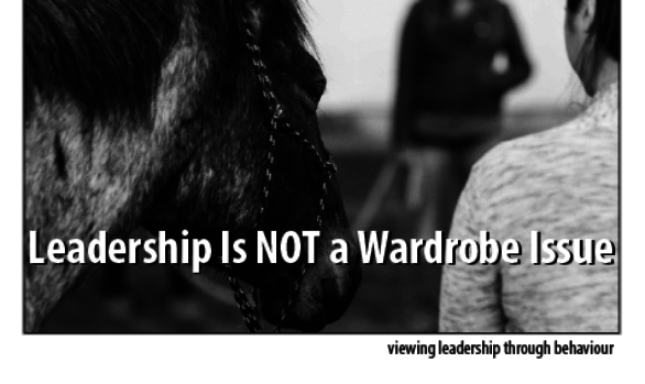 Now Available - Leadership is NOT a Wardrobe Issue